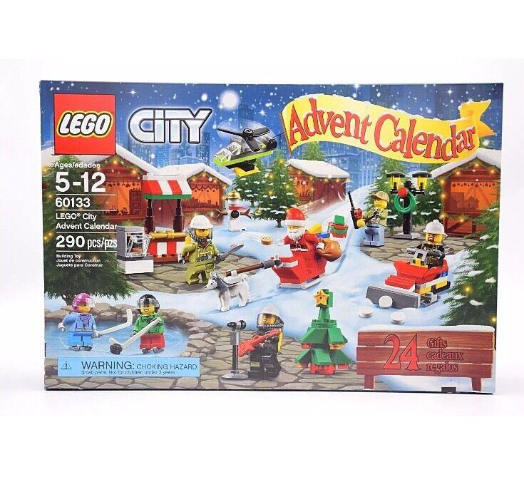 Lego City Advent Calendar 60133 New Sealed