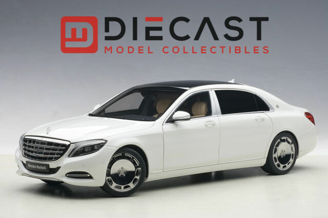 MERCEDES Maybach S Class S600 White 1/18 Model Car by AUTOart 76291 ...