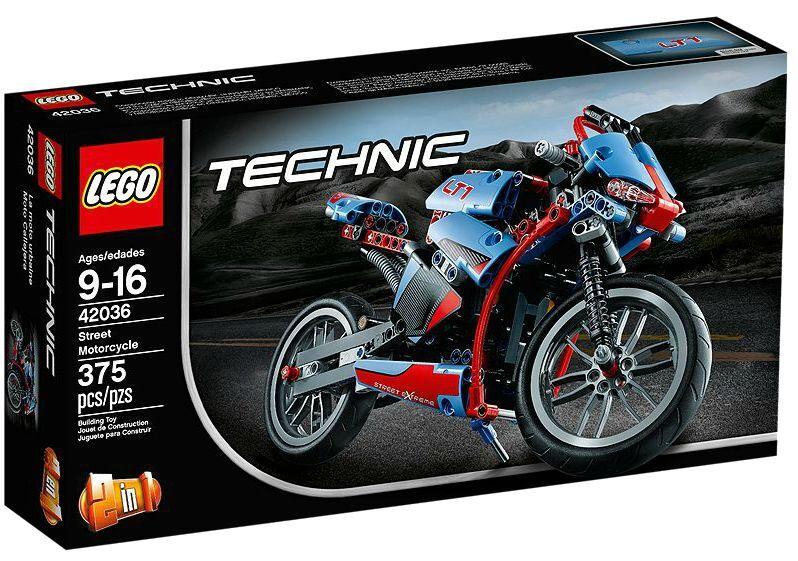 LEGO ® TECHNIC 42036 routes moto nouveau neuf dans sa boîte _ Street Motorcycle NEW En parfait état, dans sa boîte scellée Boîte d'origine jamais ouverte