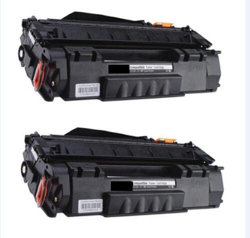 2-Pk//Pack HP Q7553A 53A Toner For HP LASERJET P2015 M2727 MFP M2727nf MFP P2015d