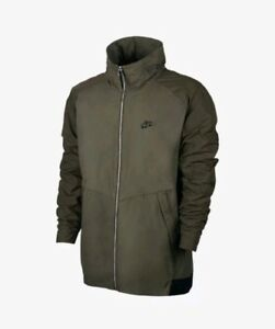 63be5f5abef0 Nike Sportswear Air Max Jacket Olive Black Men s Size Small 861598 ...
