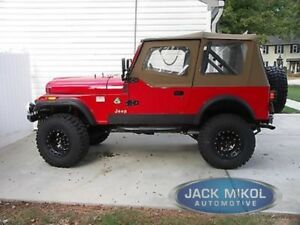 Image Is Loading Rampage 1988 1995 Jeep Wrangler Spice Soft Top
