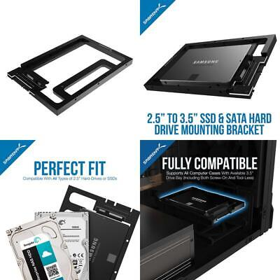 2.5 Ssd Hard Drive Sata Per Desktop 3.5 Sata Bay Converter Kit Montaggio Bk Pcbs G-