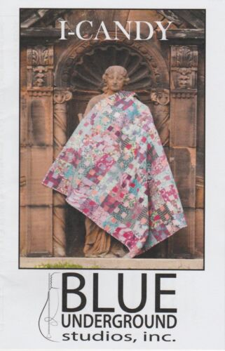 Blue Underground Studios Use FQ or Strips Quilting DIY I-Candy Quilt Pattern