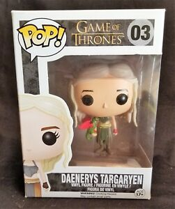 Funko Pop Game Of Thrones Daenerys Targaryen # 03 No Box