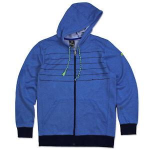 S Blu Giubbotto 3s xxl Felpa Giacca Con Cappuccio Adidas Per Zip Ess Allenamento AfPqAx1wOn