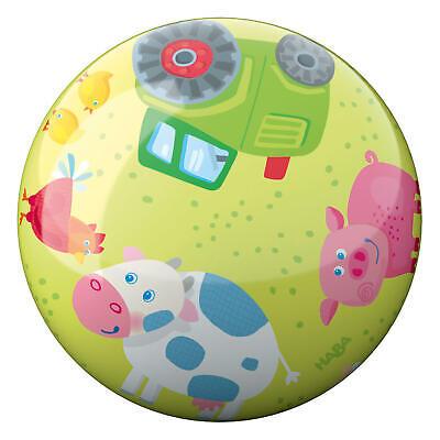 HABA Ball Bauernhof Tiere Ballspiel Kinderspiel Spiel Bewegungsspiel Spielzeug