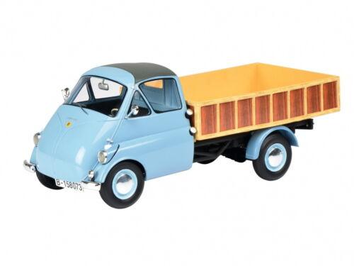 Schuco isocarro pritschenwagen azul pálido 1:18