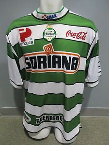 reputable site eb377 ed2f0 Details about santos laguna used jersey corona sports authentic LARGE