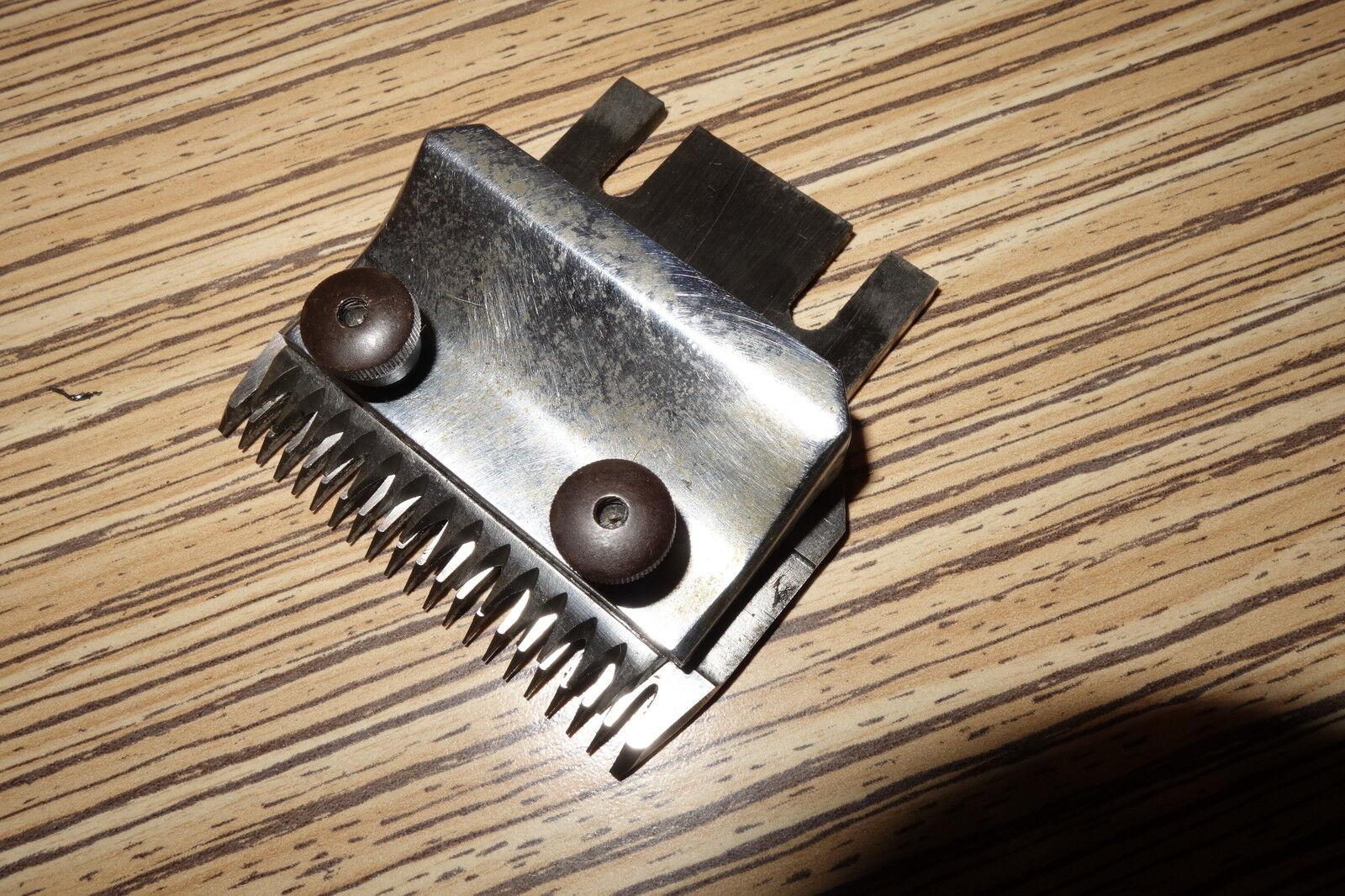 HAUPTNER di trafilatura larghi per Elektric cavalli capelli Schneider CAPELLI ANIMALI dispositivo di deformazione tangenziale. 72