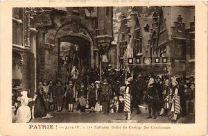 Patrie-Acte IV-Défilé du Cortége CPA Artiste Theatre Star (310666) WtPWll2c-09155547-458327133