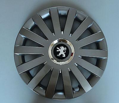 "Wheel Trims Covers 14/"" Peugeot 106,107,206,306,Partner.. Hub Caps,Quantity 4"
