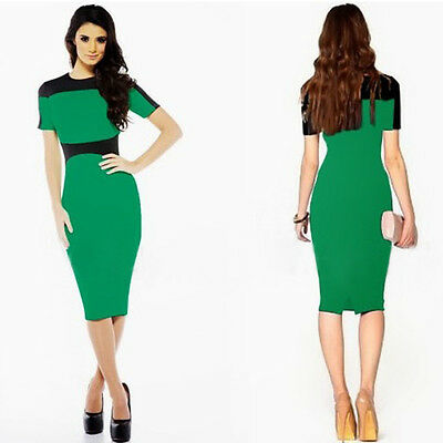 2015 New Fashion Women Ladies Bodycon Party Cocktail Evening Pencil Dress Slim