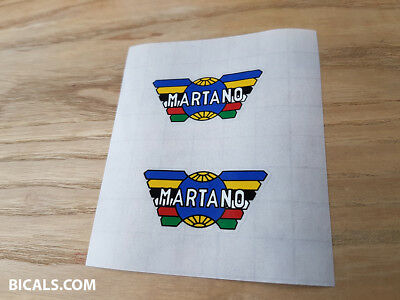 free shipping MARTANO V2 decal sticker for rims silk screen