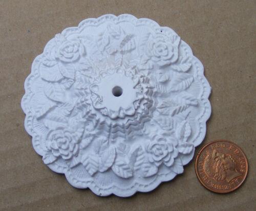 Escala 1:12 7.2cm diâmetro Teto Rose Miniatura Casa Boneca tumdee faça você mesmo B197