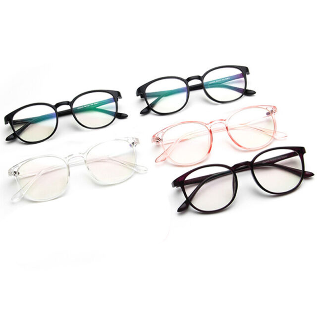 Fashion Men Retro Round Frame Vintage New Women Eyeglasses Glasses Cute Unisex