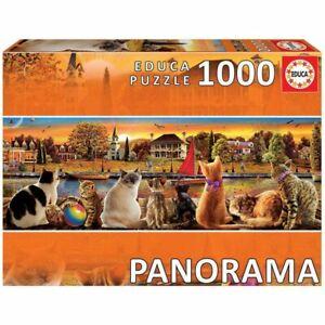 Panorama-Cat-1000-Pieza-Rompecabezas-Educa-Borras