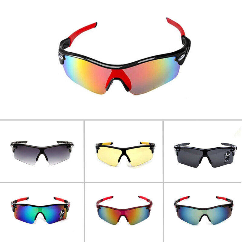Men/'s Sport Cycling Goggles Bicycle Sunglasses Outdoor Driving Eyewear Glasses
