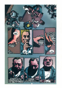 Hellblazer Purposeful Richard Corben Original Transparency Art Hard Time,jail Bringing More Convenience To The People In Their Daily Life #147 Pg 18