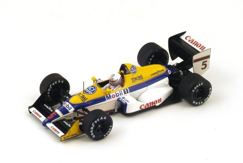 Williams FW12 M.Brundle  GP Belgium  1988 (Spark 1 43   S4027)