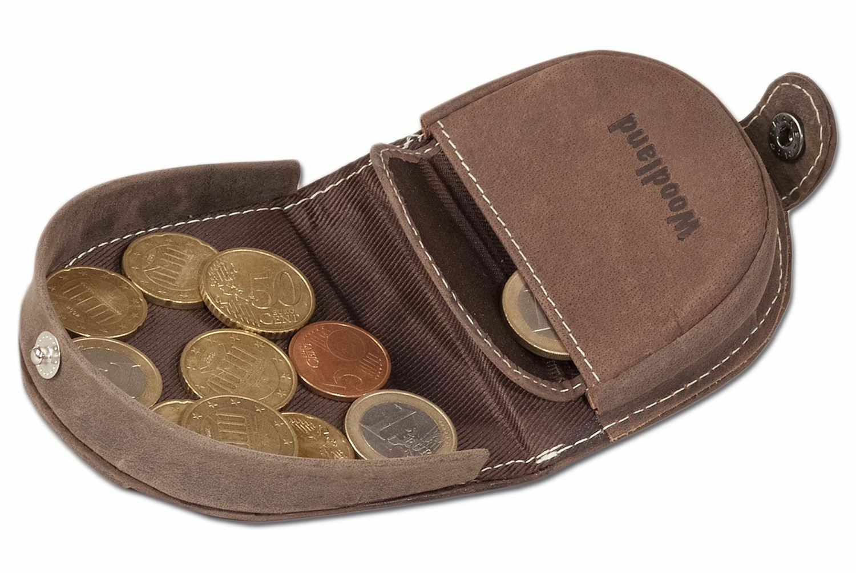 + Purse Small schüttelbörse From Buffalo Leather of Woodland Taupe 4832907
