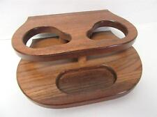Unidentified CHverolet Ford Van Wood Grain Cup Holder Trim Console New Wooden