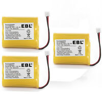 3x 3.6V 800mAh Battery for Vtech 80-5071-00-00 MG2423 8050710000 Cordless Phone