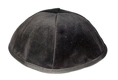 Kippah 19 20 21 22 23 24 25 cm Size Blue Navy Velvet Kipa Yarmulke Jewish Kippa