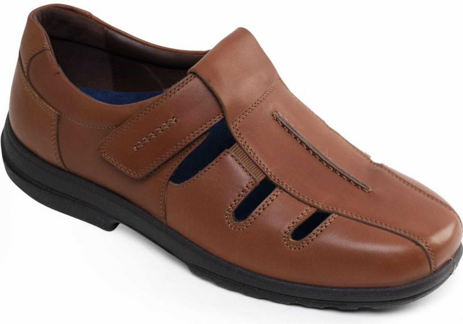 Padders DAWLISH Mens Genuine Leather Dual Wide Wide Wide Fit H K Touch Close Summer shoes acb05c