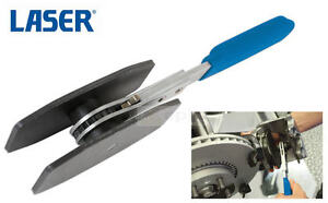 Details about LASER Ratchet Disc Brake Caliper Piston Spreader/Separator  Pad Install Tool 6743