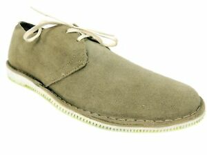 Walk Over Men's Poe Bronze Suede Boat Shoes Suede Size 10.5 M