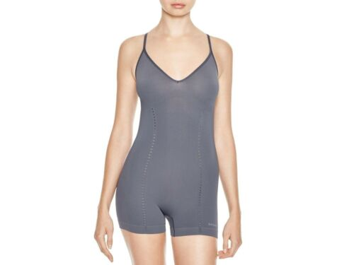 NWT Women's SPANX Lounge Hooray! Romper XL Coral Gray Shaping Bodysuit 10032R