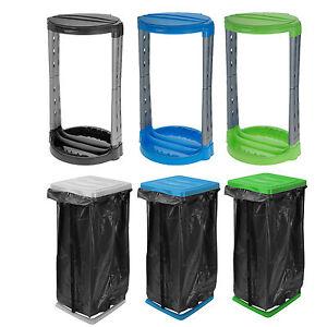 60 120 liter m llsackst nder m llsackhalter m llsackhalter m llbeutel sack ebay. Black Bedroom Furniture Sets. Home Design Ideas