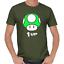 Mushroom-Pilz-1-UP-Gamer-Nerd-Geek-Geschenk-Sprueche-Lustig-Spass-Comedy-T-Shirt Indexbild 4