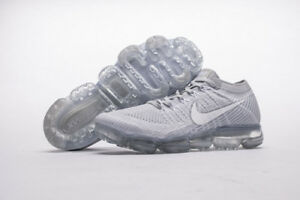 quality design 2c38c 44d42 Details about NEW Nike Air VaporMax Flyknit Pure Platinum Wolf Grey White  849558 004 EU40-45