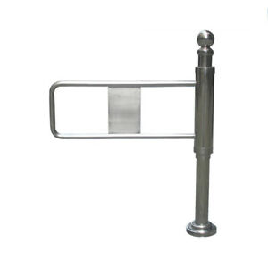 Details about Single way control supermarket swing gate turnstile barrier  for entrance control