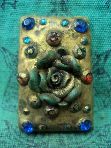 Phra-Somdej-Wat-Phra-Kaew-Gem-Talisman-Buddhist-Old-Thai-Buddha-Amulet