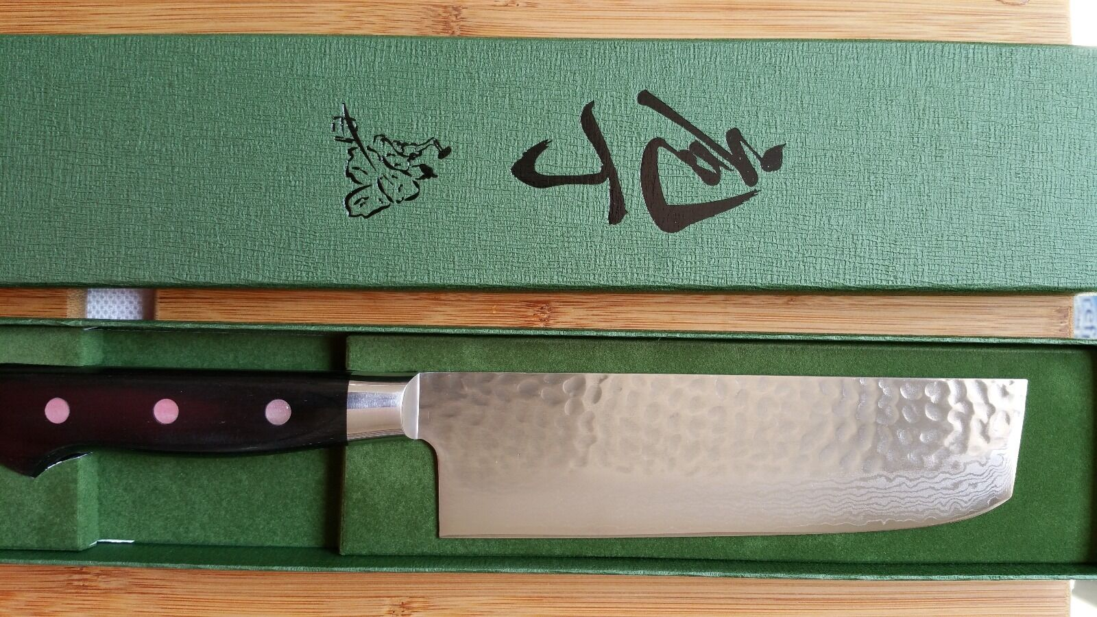 Seto Hamono VG-10 Damascus Vegetable Knife 165mm (6.5″)