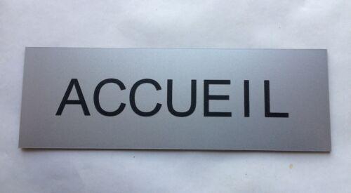 """plaque panneau /""""ACCUEIL/"""" signalétique"""