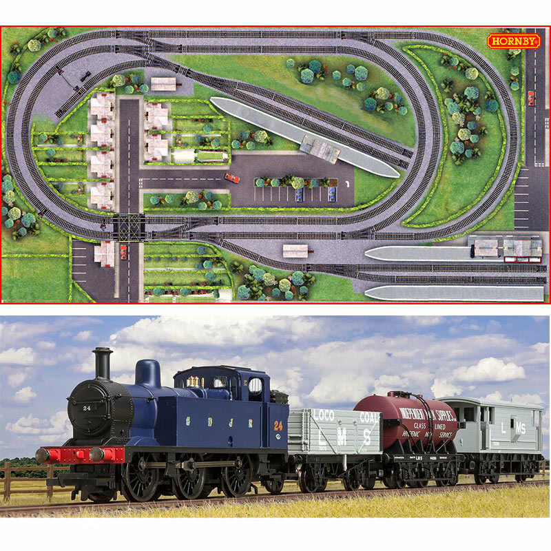 HORNBY Digital Train Set HL2 Jadlam Layout with Train - fits on 8x4ft Board