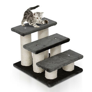 3-Tier-Pet-Stairs-Dog-Cat-Steps-Scatching-Post