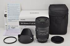 SIGMA Art 18-35mm F1.8 DC HSM Wide Angle AF Zoom Lens for Nikon F Mount #170428a
