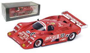 Spark S4396 Nissan 88s # 85 Le Mans 1988 - Trolle / ongais / suzuki 1/43 Echelle 9580006943965