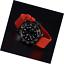 WOCCI-Silikon-Gummi-Uhrenarmband-mit-Schwarzer-Schnalle-Schnellverschluss-Ersat Indexbild 6