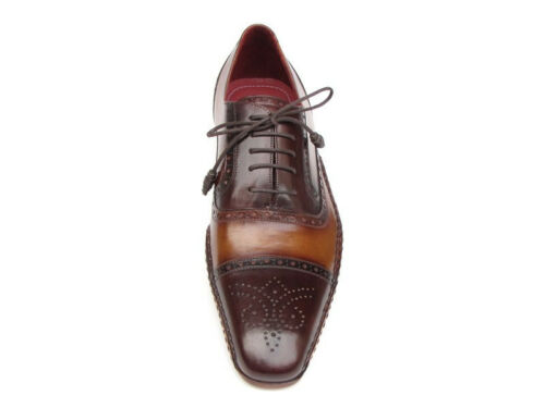 brw Painted Paul id 5032 Parkman Shoes Oxfords Brown menns Captoe Hand avaxHqY