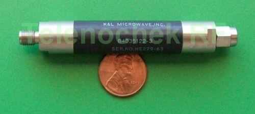 data RF microwave bandpass filter 601 MHz BW 1.549 GHz CF power 18 Watt CW
