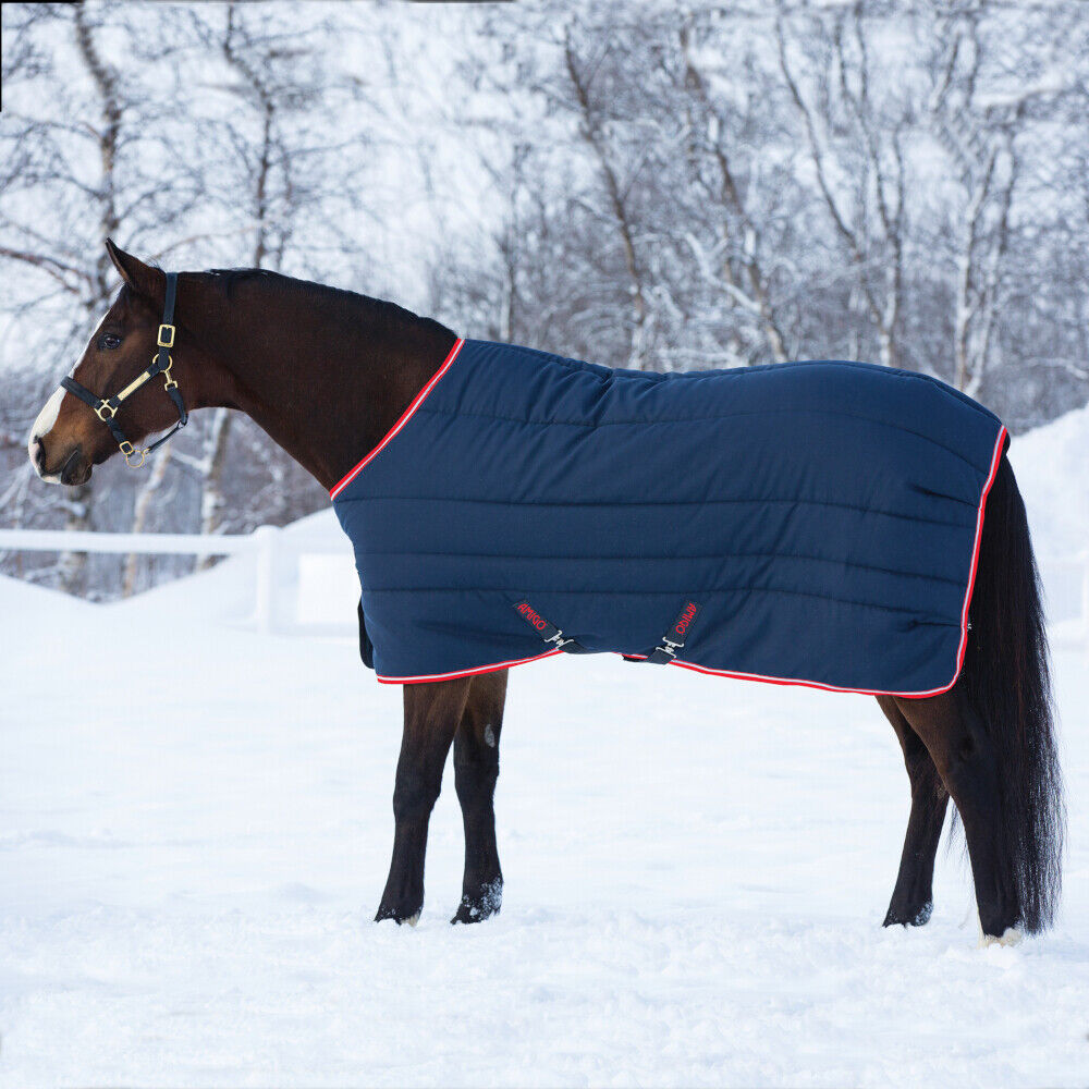 Horseware  Amigo Stable Vari-Layer Medium 250g Navy Red  outlet store