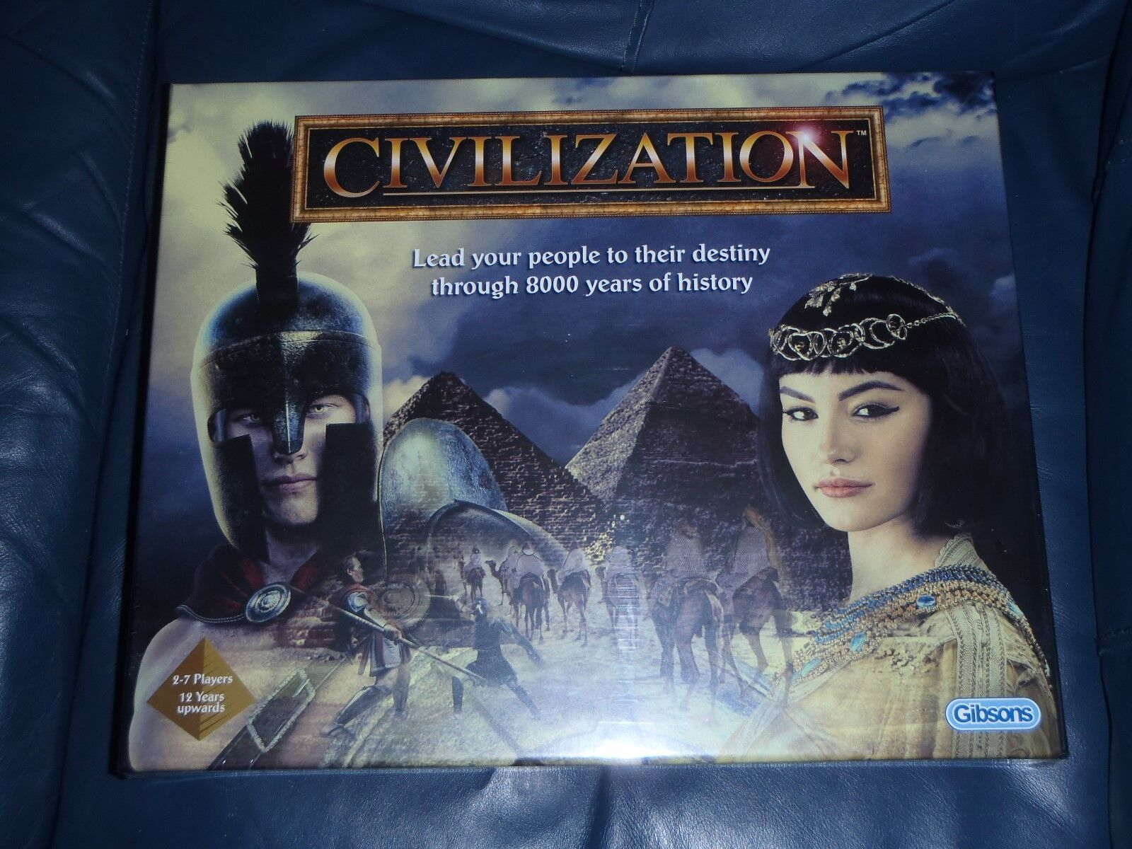 Gibsons CIVILIZATION 2018 Board Game - - - Reworked Edition  NEW + SEALED  815dbb