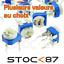 5-10 100-200 500K ohms RM065 1525# potentiomètre PCB 1-2 20-50