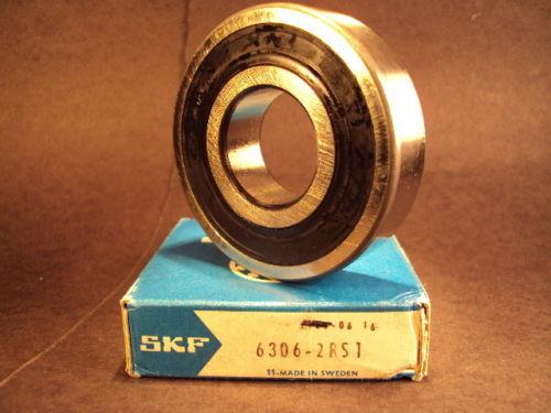 Single Row Radial Bearing SKF 6306 2RS